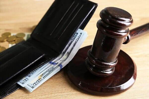 Injury settlement lien